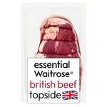 Essential Waitrose British Beef Topside