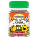 Haliborange Mr. Men Little Miss Multivitamins, Stawberry