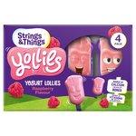 Yollies Raspberry Yogurt Lolly