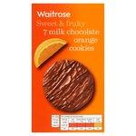 Milk Chocolate Chip & Orange Cookies Waitrose