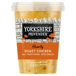 Yorkshire Provender Roast Chicken Soup & Traditional Vegetables