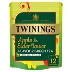 Twinings Apple & Elderflower Green Teabags