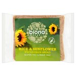 Biona Organic Rice & Sunflower Wholegrain Bread