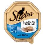 Sheba Classics Tray Tuna in Terrine