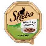Sheba Select Slices Tray Rabbit in Gravy
