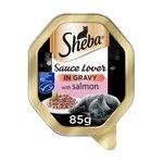 Sheba Tray Sauce Lover with Salmon