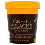 Green & Black's Organic Chocolate & Blood Orange Ice Cream