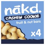 Nakd Free From Cashew Cookie Multipack