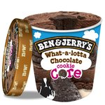 Ben & Jerry's Cookie Core What-a-lotta Chocolate Ice Cream