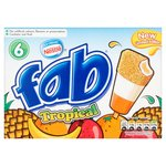 Nestle Fab Tropical Ice Lollies
