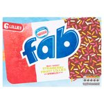 Nestle Fab Extra Strawberry Ice Lollies