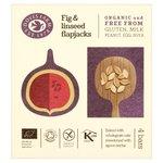 Doves Farm GF Fig & Linseed Organic Flapjacks