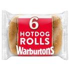 Warburtons Hot Dog Rolls