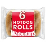 Warburtons Hot Dog Rolls