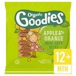 Organix Goodies Apple & Orange Mini Oaty Bites Stage 4