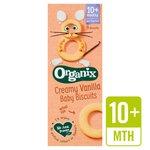 Organix Creamy Vanilla Baby Biscuits