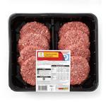 Ocado 8 Quarter Pounder Beef Burgers