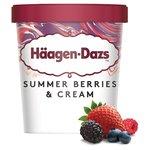 Haagen-Dazs Summerberries & Cream Ice Cream