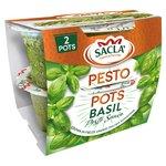 Sacla' Classic Basil Pesto Pots