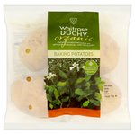 Duchy Waitrose Organic Baking Potatoes