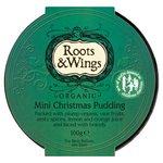 Roots & Wings Organic Mini Christmas Pudding