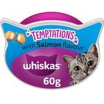 Whiskas Temptations Cat Treats Salmon