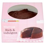 Waitrose Chocolate Round Cake