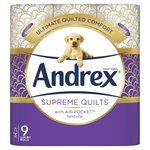 Andrex Quilts Cushioned Softness Toilet Tissue