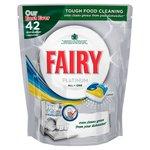 Fairy Platinum All in One Lemon Dishwasher Tablets
