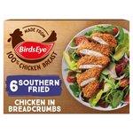 Birds Eye 6 Southern Fried Chicken Frozen