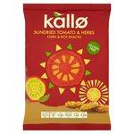 Kallo Tomato & Herb Mini Corn & Rice Cakes