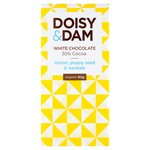 D&D Lemon, Poppy Seed & Baobab 30% White Chocolate