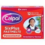 Calpol 6+ Sugar Free Strawberry Fastmelts
