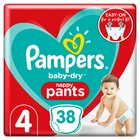 Pampers Baby Dry Pants Size 4 Essential Pack 40 per pack