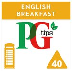 PG Tips English Breakfast Pyramid Teabags