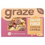 Graze Salted Fudge & Peanut Cookie