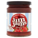 JimJams Reduced Sugar Strawberry Jam
