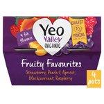 Yeo Valley Organic Fruity Favourites Yogurts