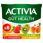 Activia Bifidus Actiregularis Strawberry, Apricot, Kiwi and Mango