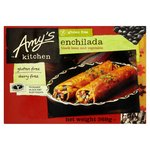 Amy's Kitchen Black Bean Vegetable Enchilada Frozen