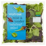 Tender Baby Leaf Salad Waitrose