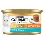 Gourmet Gold Cat Food Savoury Cake Tuna