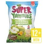 Super Yummies Apple & Orange Rice Cakes