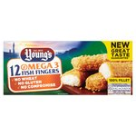 Young's 12 Wheat & Gluten Free Fish Fingers Frozen