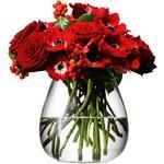 LSA International Flower Table Bouquet Vase 17cm Clear