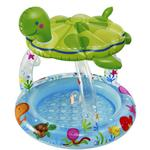 Intex Sea Turtle Baby Pool with Sun Shade 1 +