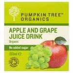 Pumpkin Tree Organics Apple & Grape Juice