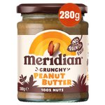 Meridian No Added Salt Crunchy Peanut Butter