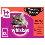 Whiskas 1+ Cat Pouch Creamy Meaty Soup