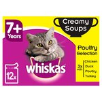 Whiskas 7+ Cat Pouch Creamy Soup Poultry